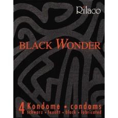 Презервативи RILACO Black Wonder 4 бр
